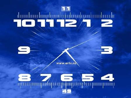 Показывают время установленное на